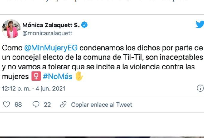 Concejal Chile Camilo Para Soro Pide Feminicidios