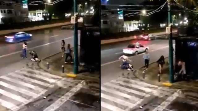 Sexoservidoras golpean hombre Tlalpan