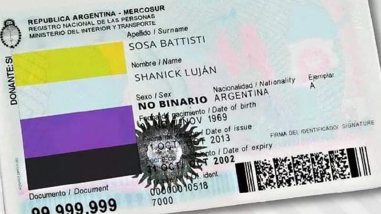Argentina autoriza documentos identidad personas no binarias