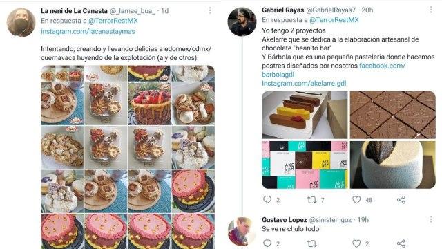 promocionan emprendimientos reporteros en Twitter