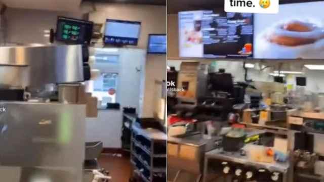 Trabajadores local comida rápida renunciaron a media jornada