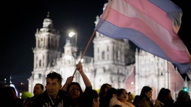 Protesta por transfeminicidios en la República Mexicana