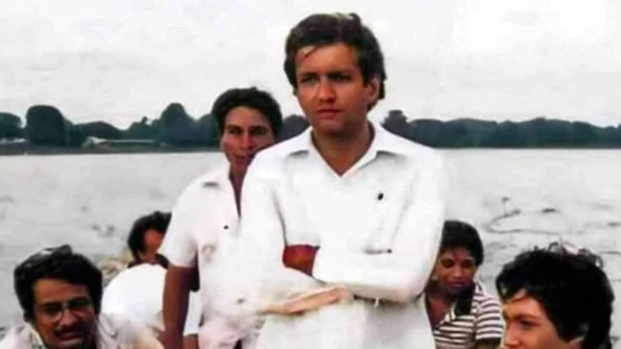 Fotos de políticos en su juventud