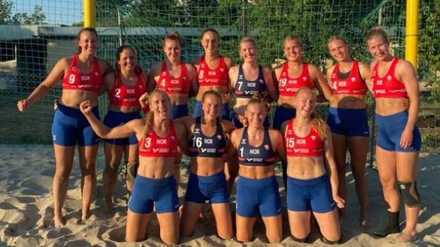 Jugadoras Noruega multadas uniforme voleibol