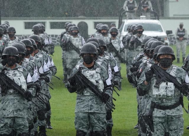 Guardia Nacional y la militarización de México