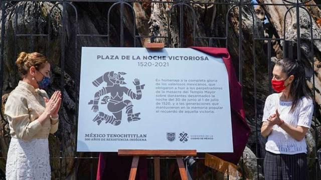 Cambio nombre Plaza Noche Triste