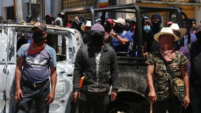 El Machete Autodefensas Chiapas Secuestra 21 Personas