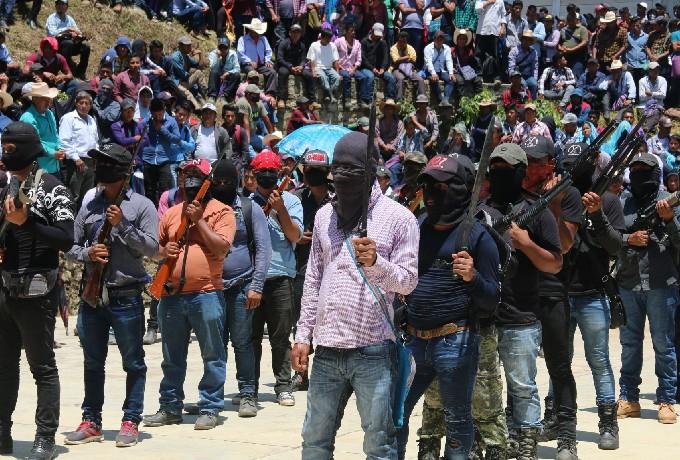 Autodefensa El Machete Acusa Gobierno PRD Chiapas Narcotráfico