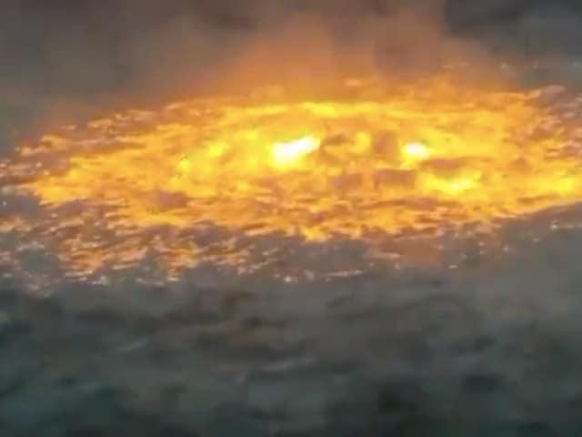 Explota Línea Gasoducto Pemex Campeche