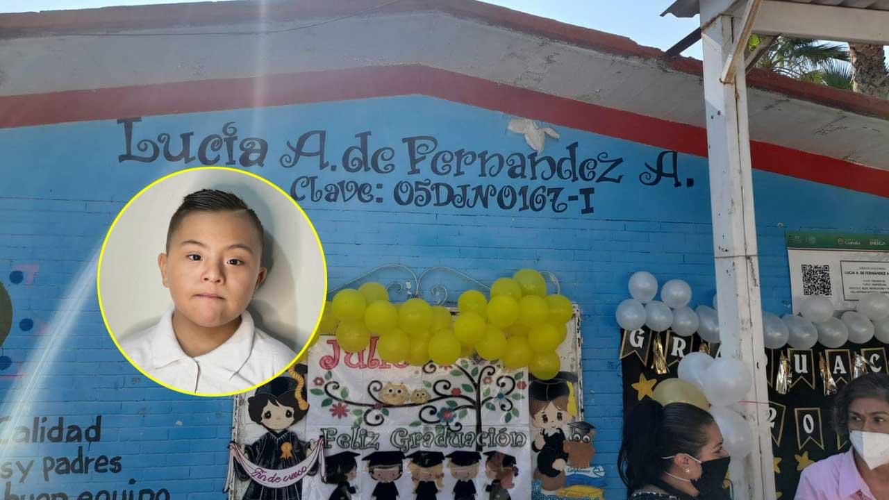 Madre exhibe a kinder de Matamoros por discriminar a su hijo con síndrome de Down