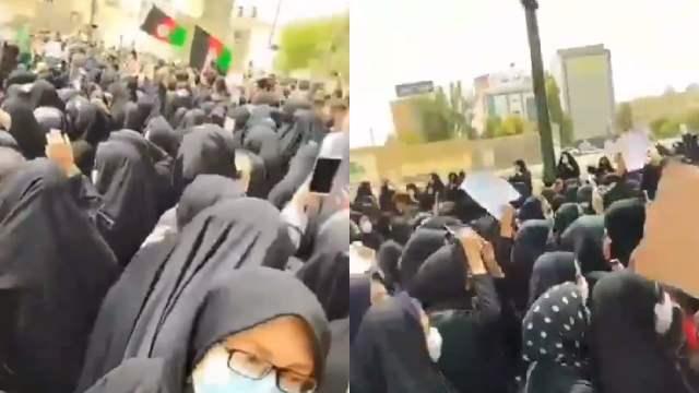 Mujeres ofrecen asilo a mujeres afganas