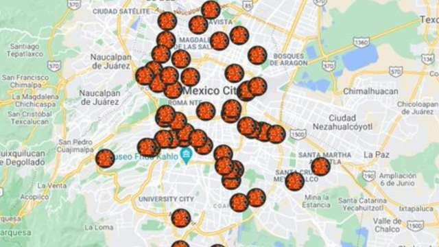 Crean mapa de chilaquiles en la CDMX