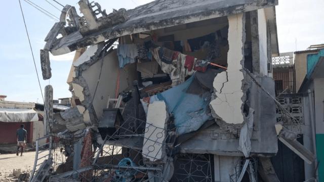 Confirman 227 muertos hasta el momento por terremoto en Haití