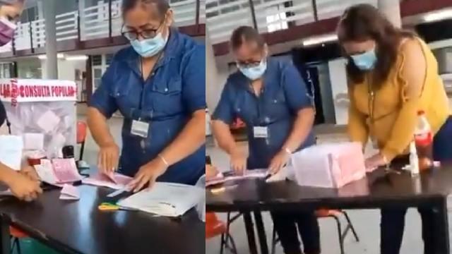 INE denunció relleno de urnas en Orizaba