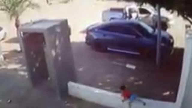 Video: Niño escapó de sicarios
