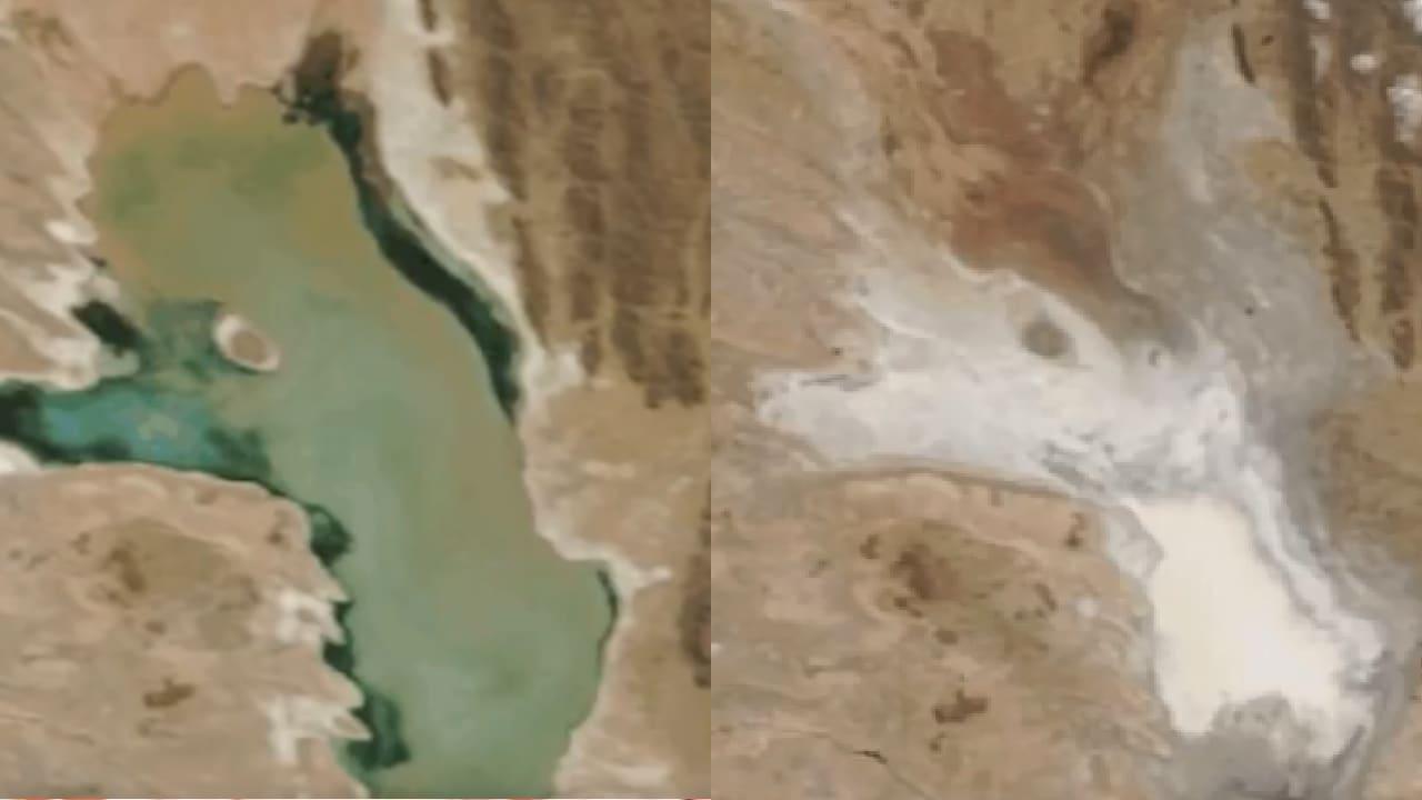 Segundo lago más grande de Bolivia se secó
