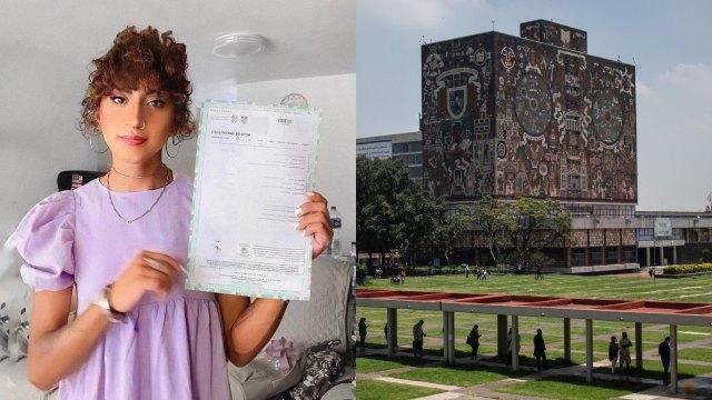 Sofía Pastrana estudiante transgénero UNAM