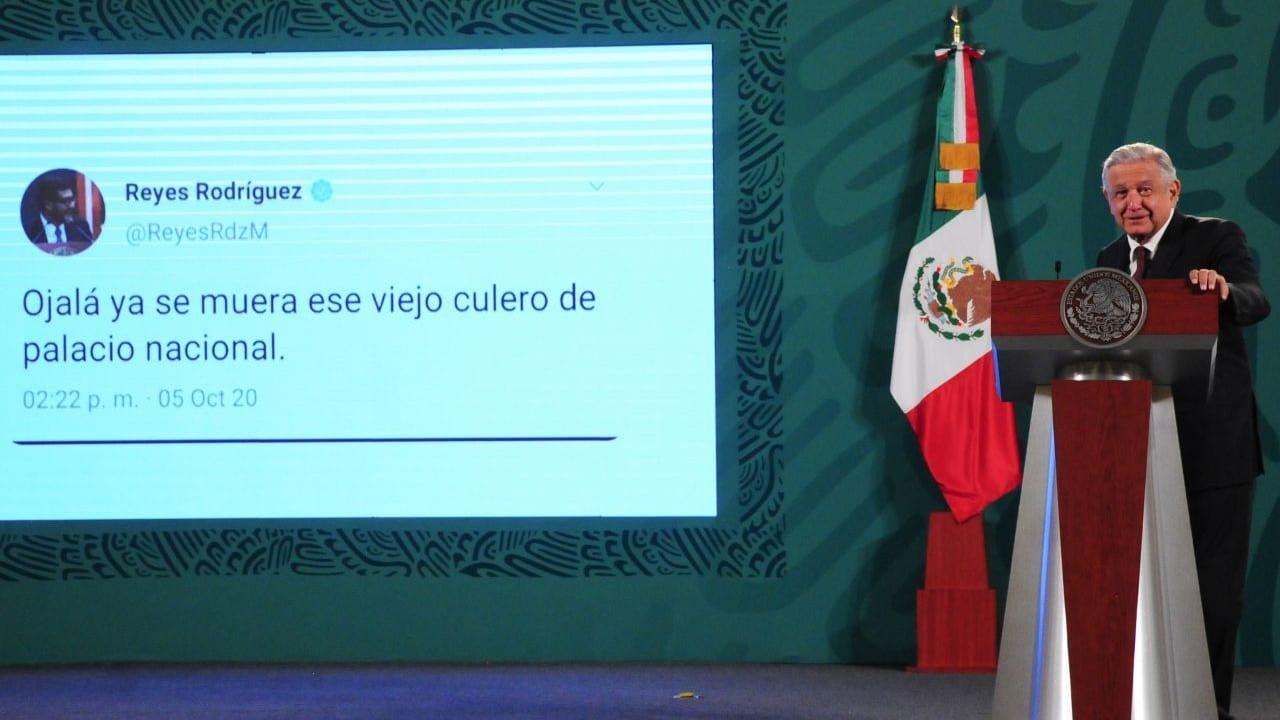 AMLO Tuit Falso Magistrado Reyes Rodríguez Mondragón presidente Tribunal Electoral