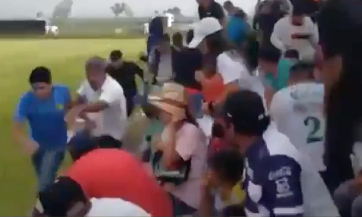 Balacera Partido Futbol León Cuerno de Chivo Muertos