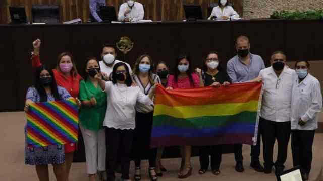 Diputados Congreso de Yucatán Aprueban Matrimonio Igualitario