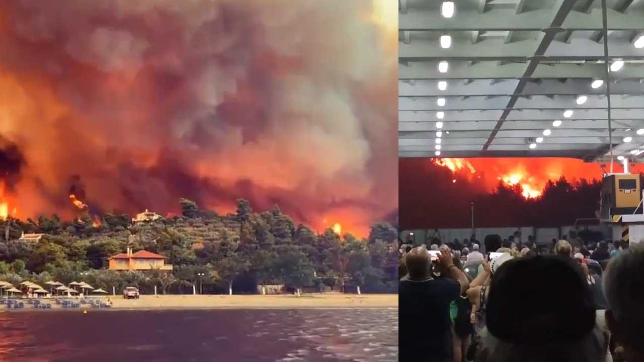 Incendios provocan escenas de película de desastres en Grecia