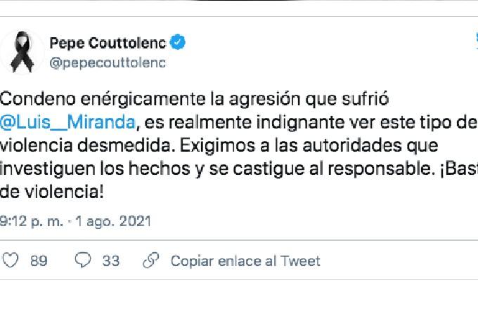 Video Golpean Luis Miranda Hijo Diputado Partido Verde