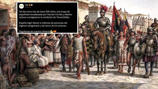 Vox tuit Conquista de Mexico