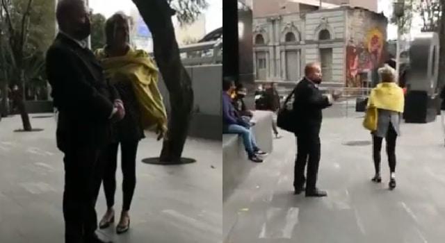 Corrieron protesta al líder de FRENA