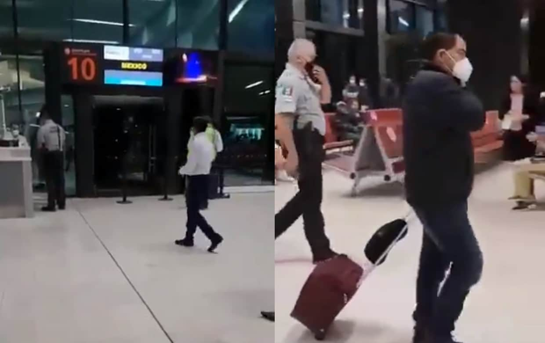 Bajan de vuelo a diputado del PT en Tijuana; se negó a pagar equipaje extra