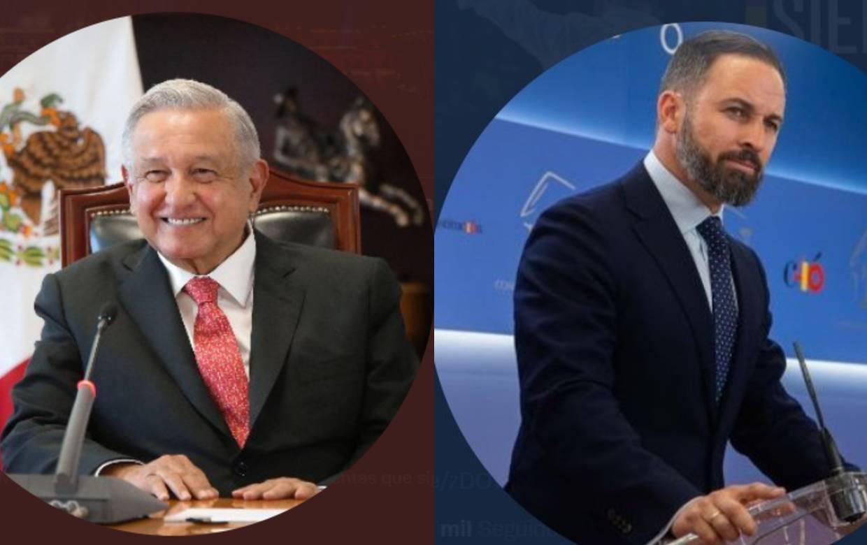Líder de VOX responde a AMLO tras crítica por firmar Carta de Madrid con el PAN