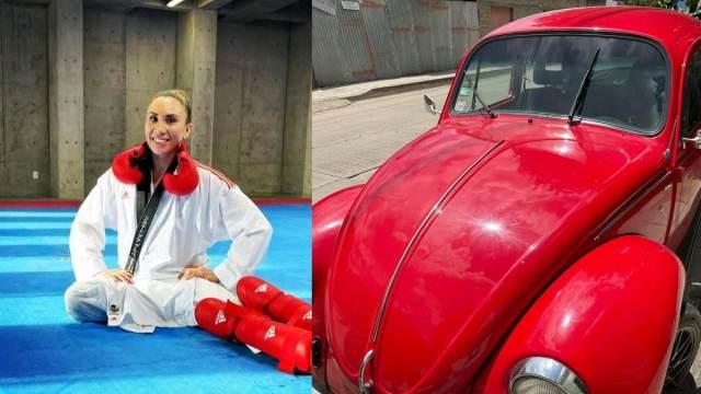 Deportista Oaxaqueña Xhunashi Caballero Apoyo Mundial Karate
