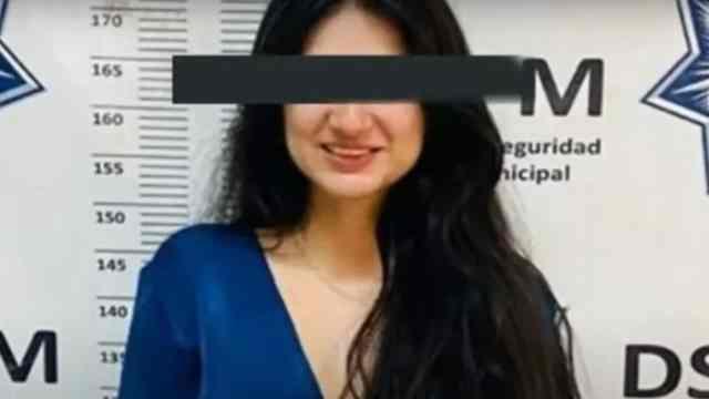 Lilian fue detenida por morder y arañar a policías en Mexicali