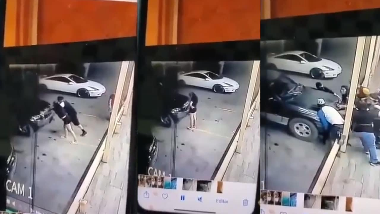 Video Mujer atropella amiga y muere prensada