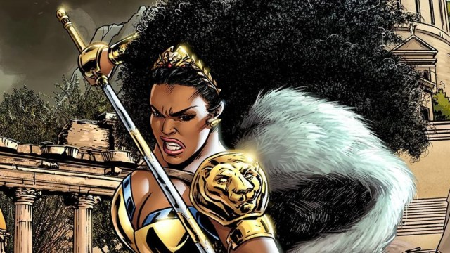 Amazona trans universo Wonder Woman