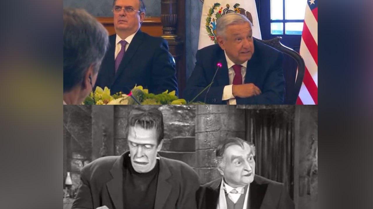 Fox compara a López Obrador y Marcelo Ebrard con familia Monster