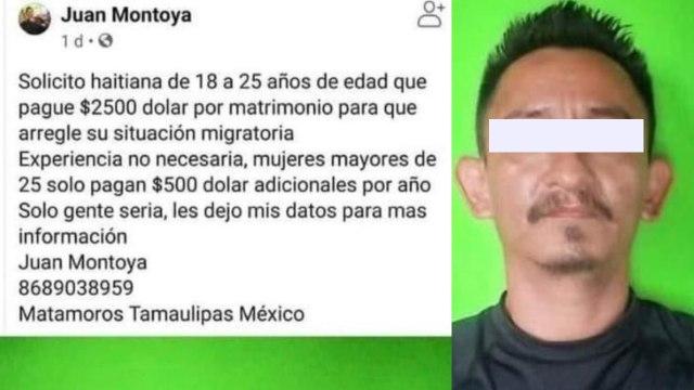 Mexicano ofrece matrimonio a haitianas a cambio de dinero y recibe muchas solicitudes