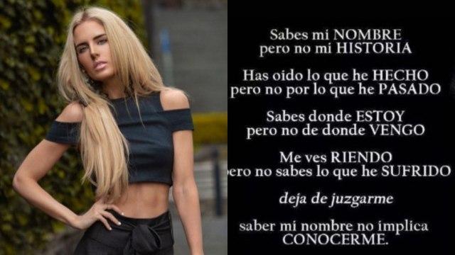 Tania Ruiz publica contundente mensaje tras ser captada con Peña Nieto en Roma