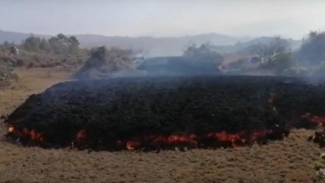 Video: Así es el sonido de la lava del volcán de Cumbre Vieja en España