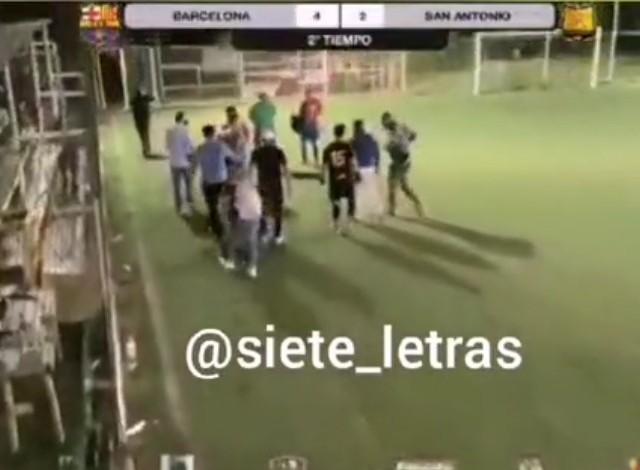 Partido de futbol termina en balacera en Azcapotzalco