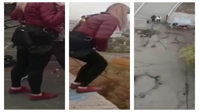 Mujer muere al no tener su cuerda asegurada al saltar de bungee