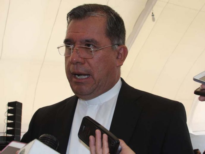 José Manuel Suazo Reyes vocero de la arquidiócesis de Xalapa reta a que se haga pública la lista de sacerdotes inmorales