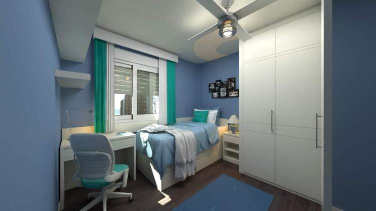 Top Tips On Modern Bedroom Designs For Small Rooms