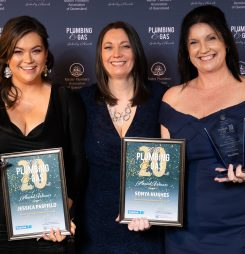 Business Women Lead the Way in Plumbing Industry Awards