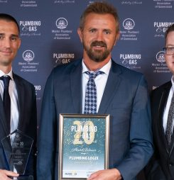 Two Plumbing Companies Win Award for Service Excellence