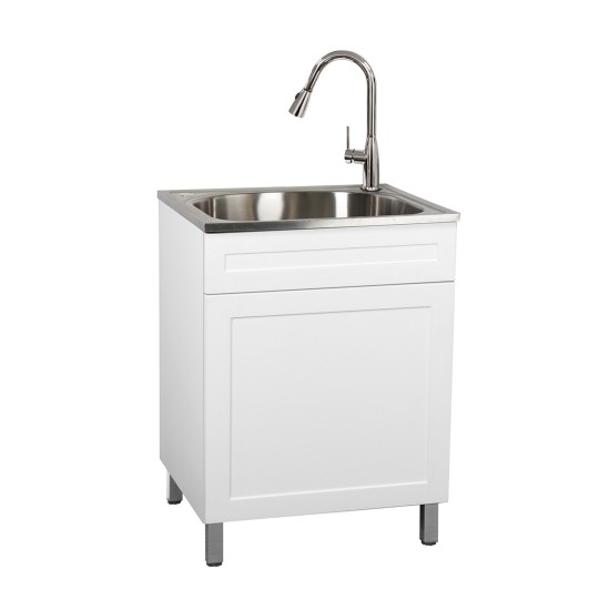 cabalo lt25sy1dwh laundry sink combo