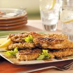 Grilled Breaded Chicken