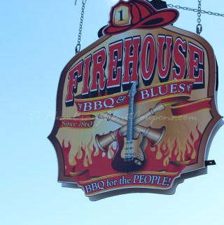 Richmond Indiana ~ Old Firehouse, Great Food ~ Firehouse BBQ & Blues