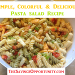Pasta Salad Recipe Day 12 #12DaysOf