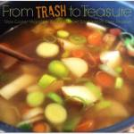 Trash to Treasure Soup Day 4 #12DaysOf