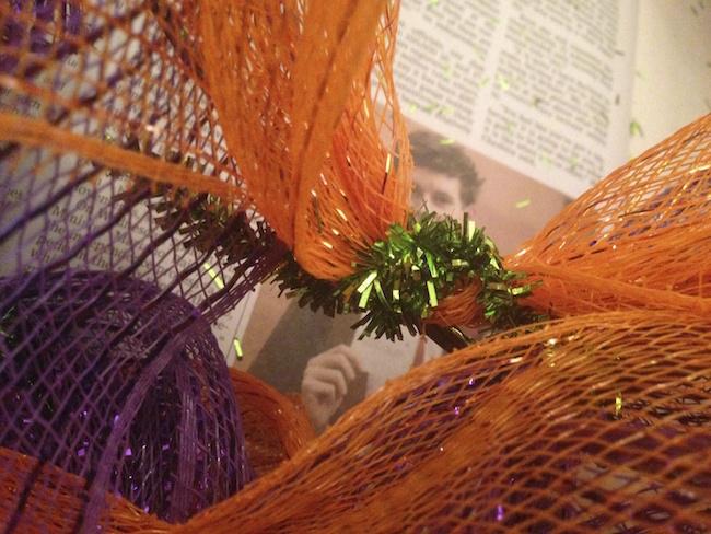Flower Deco Mesh Wreath